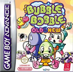 Bubble Bobble Old And New GBA (käytetty)