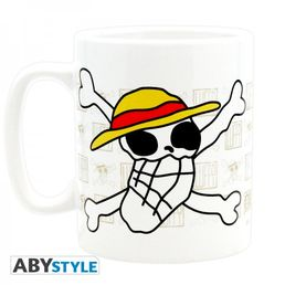 One Piece Skull Drawn By Luffy 460ml Mug