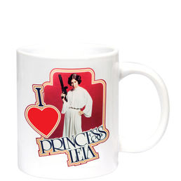 Star Wars I Heart Princess Leia 300 ml Mug
