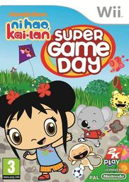 Ni Hao Kai-Lan Super Game Day Wii