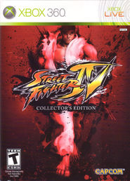 Street Fighter IV Collectors Edition Xbox 360