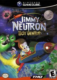 Jimmy Neutron Boy Genious GameCube