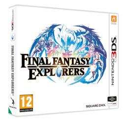 Final Fantasy Explorers 3DS