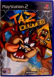 Taz Wanted PS2