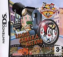 Animaniacs Lights Camera Action GBA (käytetty)