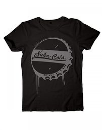 Fallout 4 Nuka Cola Bottle Cap T-shirt Koko L