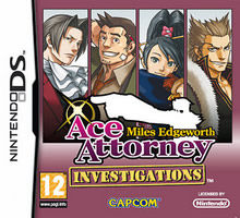 Ace Attorney Investigations: Miles Edgeworth Nintendo DS