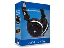 4gamers Pro 410 Stereo Gaming Headset PS4 PSV