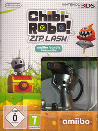 Chibi-Robo! Zip Lash Amiibo Bundle Pack 3DS