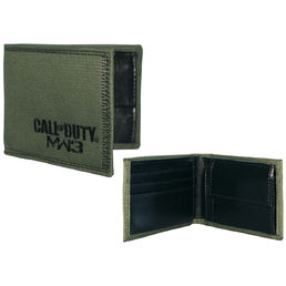 Call of Duty Modern Warfare 3 Green Bifold Wallet Lompakko + rannenauha