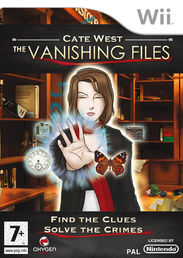 Cate West The Vanishing Files Wii