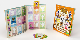 Animal Crossing amiibo cards Series 2 Collectors Album + 3 korttia