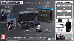 Hitman 2 Collector's Edition PS4