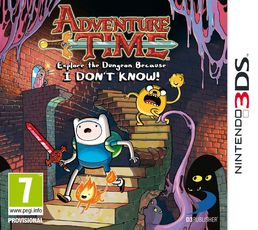 Adventure Time: Explore The Dungeon Because I Don't Know 3DS