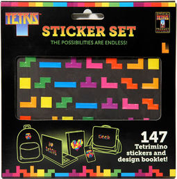 Tetris Sticket Set