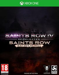 Saints Row IV: Re-Elected + Gat Out of Hell Xbox One