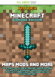 Xploder Minecraft Diamond Edition Xbox 360