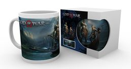 God of War Kratos with Son Atreus Mug