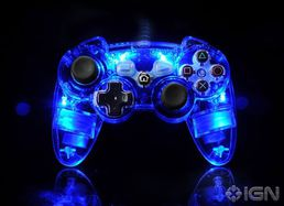 Wired Controller Afterglow Sininen PS3