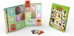 Animal Crossing amiibo cards Collectors Album + 3 korttia