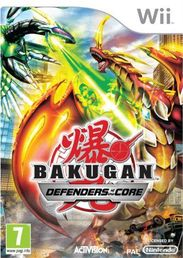 Bakugan Battle Brawlers: Defenders of the Core Wii