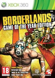 Borderlands Game Of The Year Xbox 360