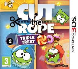 Cut the Rope Triple Treat 3DS