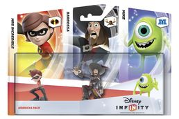 Disney Infinity Sidekicks Figurine 3 Pack