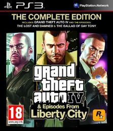 Grand Theft Auto IV Complete PS3