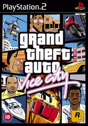 Grand Theft Auto: Vice City Platinum PS2