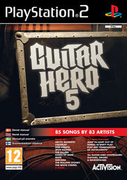 Guitar Hero 5 PS2