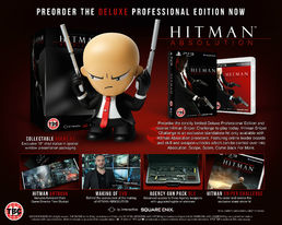 Hitman: Absolution Deluxe Professional Edition PS3