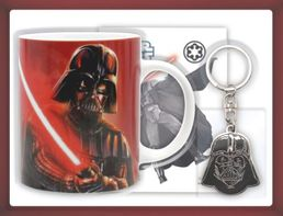 Star Wars Darth Vader Pack (Mug, Metal Keychain, Sticker)