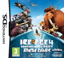 Ice Age 4: Continental Drift Nintendo DS