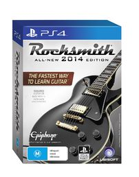 Rocksmith All-New 2014 Edition PS4 + kaapeli