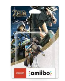 amiibo Breath of the Wild Collection Link Rider hahmo