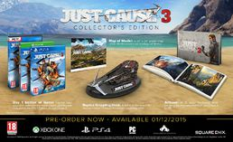 Just Cause 3 Collectors Edition PC