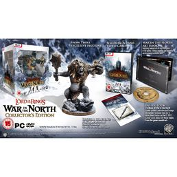 Lord of the Rings War in The North PC Collectors Edition