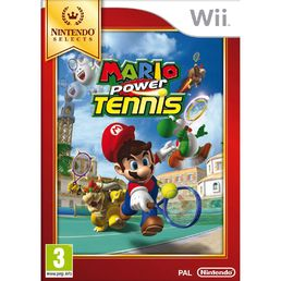 Mario Power Tennis Selects Wii