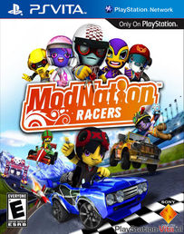 ModNation Racers PS Vita