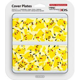 New Nintendo 3DS Cover Plate Pikachu