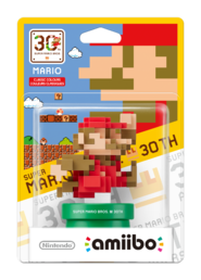 Amiibo 30th Anniversary Collection Mario Classic Colours Hahmo