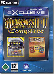 Heroes of Might & Magic III & IV Complete PC
