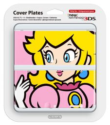 New Nintendo 3DS cover plate Princess Peach
