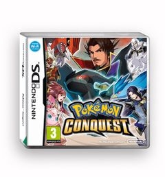 Pokemon Conquest Nintendo DS