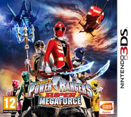 Power Rangers Super Megaforce 3DS
