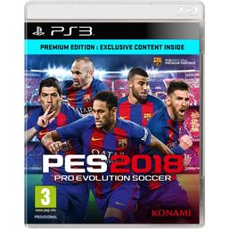 Pro Evolution Soccer Premium Edition 2018 PS3