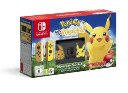 Pokémon: Let's Go, Pikachu! Nintendo Switch Bundle