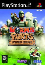 Worms Forts - Under Siege PS2