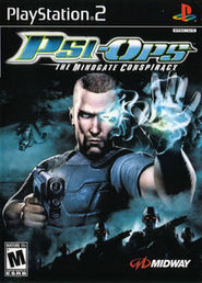 Psi-Ops: The Mindgate Conspiracy PS2